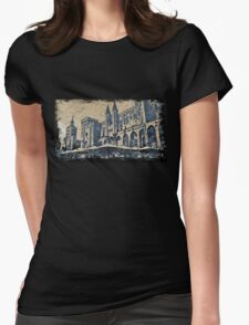 Avignon palace Womens Fitted T-Shirt