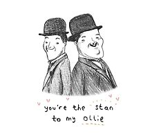 Laurel & Hardy by Sophie Corrigan
