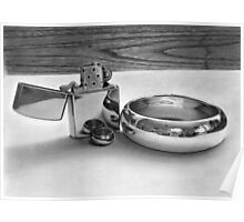 Reflections of Love - Graphite drawing Poster