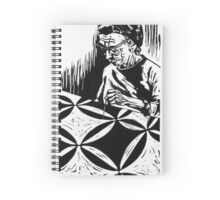The Quilter, Nellie Clouse Spiral Notebook