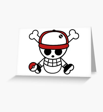 Red pirate 1 Greeting Card