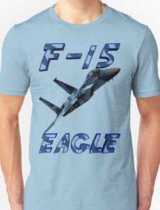 F15 Eagle in Aggressor Paint T-Shirt