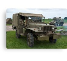 Dodge Weapons Carrier Canvas Print