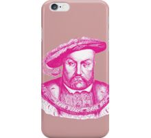 Pink Henry the Eighth VIII iPhone Case/Skin