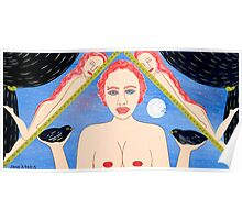 TWO AND ONE HALF NAKED WOMEN Poster