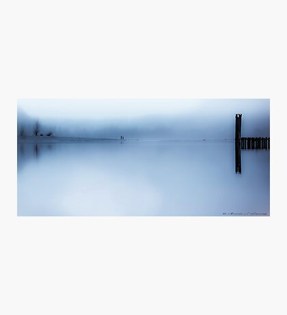 Misty Blue Photographic Print