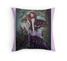Secret garden fairy tote bag Throw Pillow