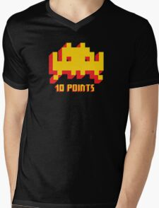 Space Invaders 10 Points Mens V-Neck T-Shirt