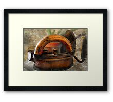 Let Them Rust in Cobwebs Framed Print