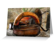 Let Them Rust in Cobwebs Greeting Card