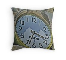 Time to look at the watch! Throw Pillow