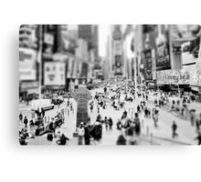 On Times Square  Canvas Print
