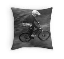Panning Burm Shot Throw Pillow