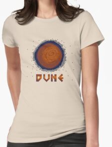 DUNE 8bit Womens Fitted T-Shirt