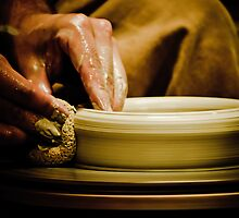 Wheel Turned Pottery by Phillip M. Burrow
