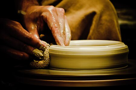Wheel Turned Pottery