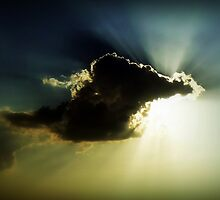 Shining through the clouds! by Kalyan29883
