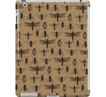Entomology studies pattern iPad Case/Skin