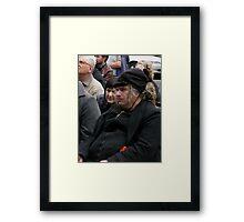 Black Anarchist Framed Print