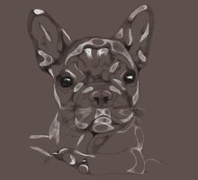 Sketchy Frenchie One Piece - Short Sleeve