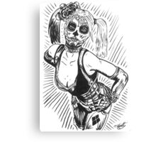 Sugar Harley Canvas Print