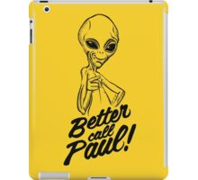 Better Call Paul iPad Case/Skin
