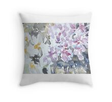 Roses not red, roses not white Throw Pillow