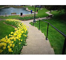 Lets take a walk In Pella Photographic Print
