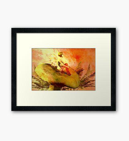 Fairy daydreams Framed Print