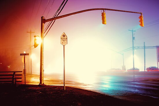 Foggy Night by fixtape