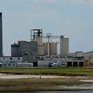 Sifto Salt Factory,Unity,Sask,Canada by MaeBelle