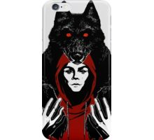 lil' red ridin' hood iPhone Case/Skin