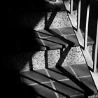 Shadows and stairs by Catherine Davis