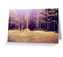 Purplescape Greeting Card