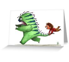 Who is scared? Greeting Card