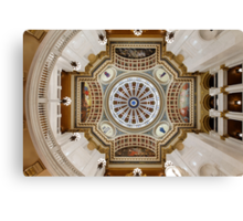 Rotunda in Symmetry Canvas Print