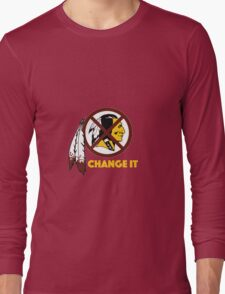 Change It: Redskins Long Sleeve T-Shirt