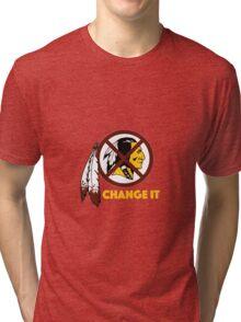 Change It: Redskins Tri-blend T-Shirt