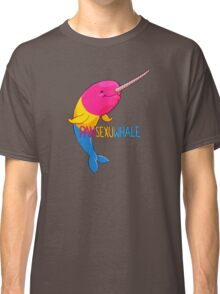 Pansexuwhale - with text Classic T-Shirt