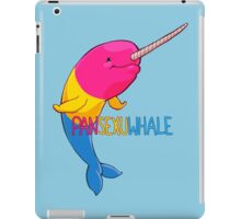 Pansexuwhale - with text iPad Case/Skin