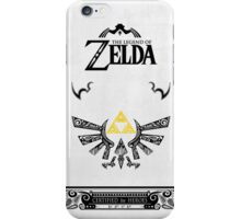 Zelda legend Hyrule iPhone Case/Skin