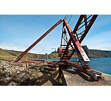 Crane at Neist Point Photographic Print