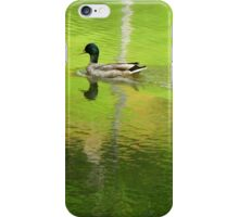 Cross The Line, Make It SHIMMER! iPhone Case/Skin