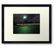 Tuesday Night Framed Print