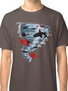 Shark Tornado - Science Fiction Shark Movie - Shark Attack - Shark Tornado Oh Hell No - Sharks! Classic T-Shirt