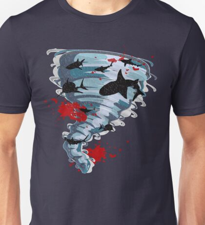 Shark Tornado - Science Fiction Shark Movie - Shark Attack - Shark Tornado Oh Hell No - Sharks! Unisex T-Shirt