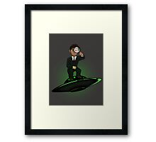Scully Check This Out Framed Print