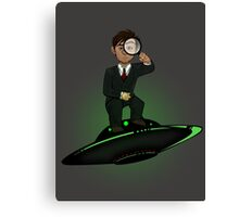 Scully Check This Out Canvas Print
