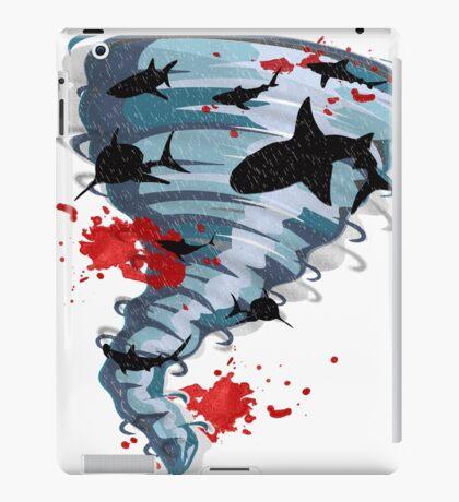 Shark Tornado - Science Fiction Shark Movie - Shark Attack - Shark Tornado Oh Hell No - Sharks! iPad Case/Skin