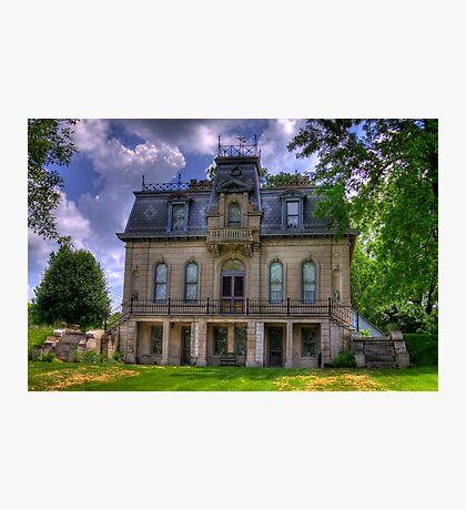 Matthews Mansion - Ellettsville, IN Photographic Print